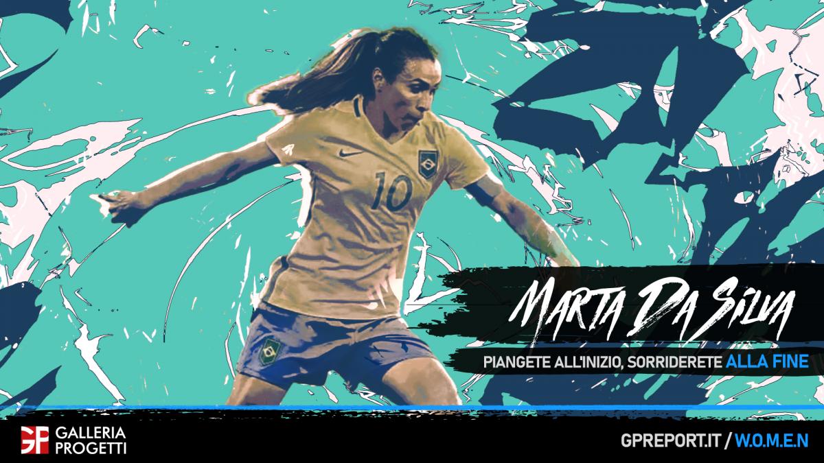 Marta Vieira da Silvia - Non chiamatemi Pelé con la gonnella