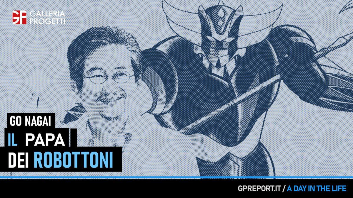 Go Nagai – Il Maestro dei Robot Giapponesi
