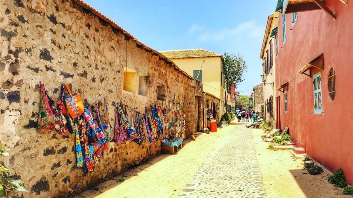 Gôrée - Strada verso casa degli schiavi