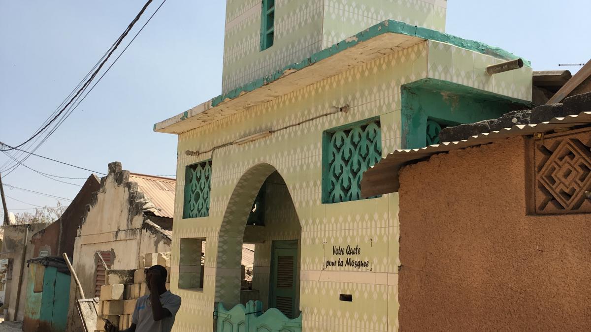 fadiouth moschea