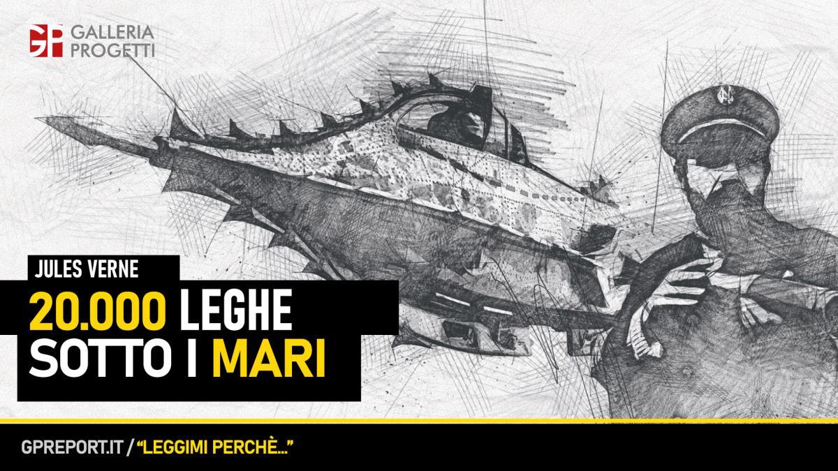 Jules Verne – 20.000 leghe sotto i mari