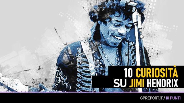 Jimi Hendrix – 10 punti a suon di Rock