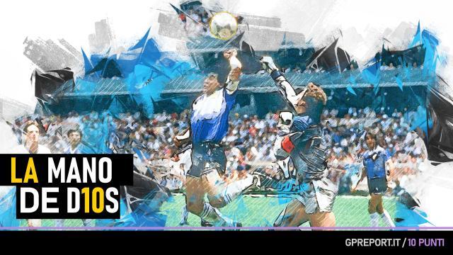 Maradona - Il Pibe de Oro in D10S punti