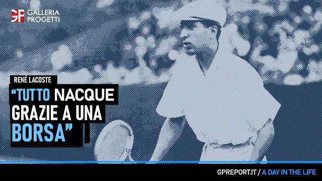 René Lacoste – Il Tennista Coccodrillo
