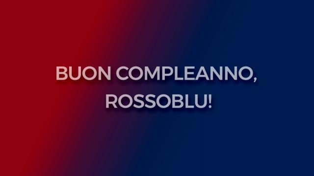 Buon Compleanno Rossoblu