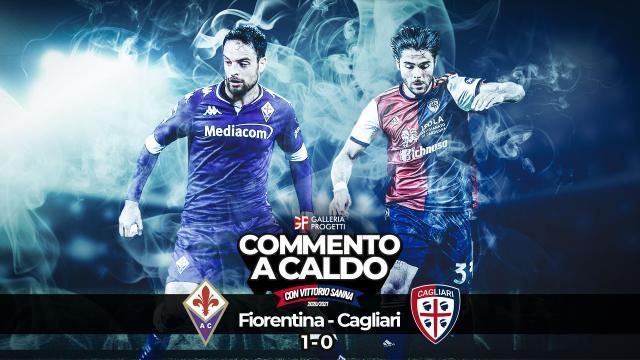Commento a Caldo Fiorentina Cagliari 1 0