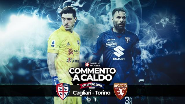 Commento a Caldo   Cagliari - Torino 0-1