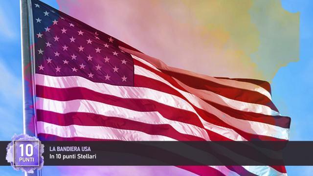 La Bandiera USA in 10 punti Stellari