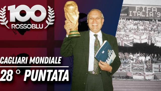 """100 Rossoblù 28°puntata """"Cagliari Mondiale"""""""