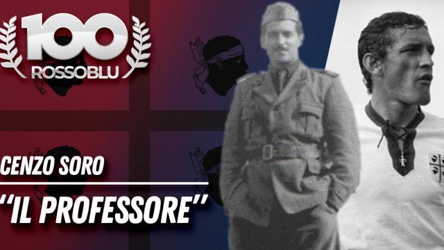 """100 Rossoblu - Biografie - Cenzo Soro """"Il professore"""""""