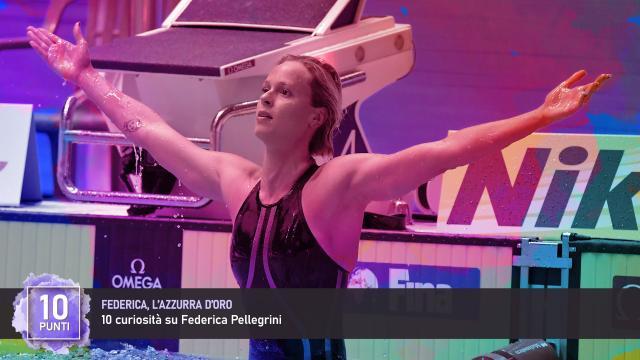 Federica, l'Azzurra D'Oro - 10 curiosità su Federica Pellegrini