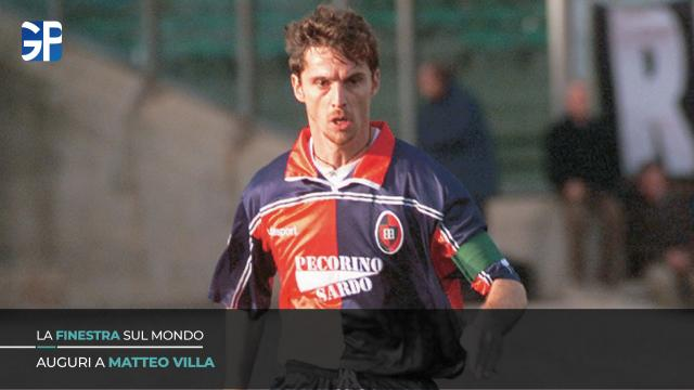 Auguri a Matteo Villa, uno dei più grandi capitani nella storia del Cagliari