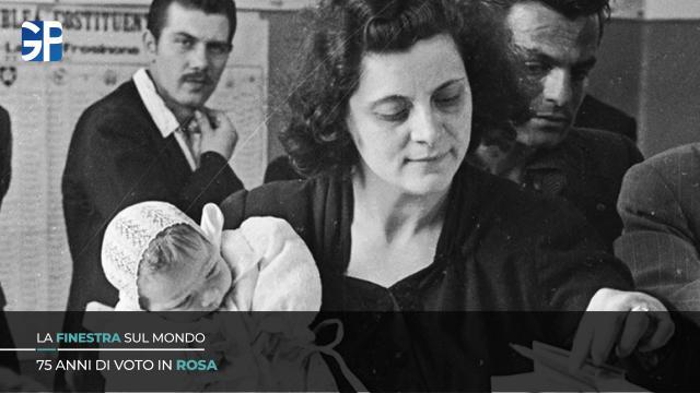 75 anni fa le donne italiane conquistavano il diritto al voto