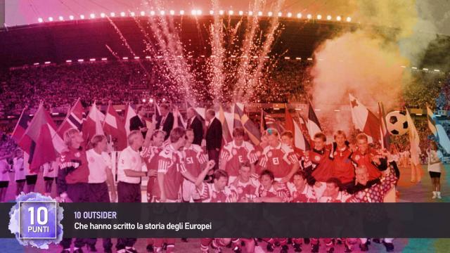 Europei: 10 Outsider che hanno scritto la Storia