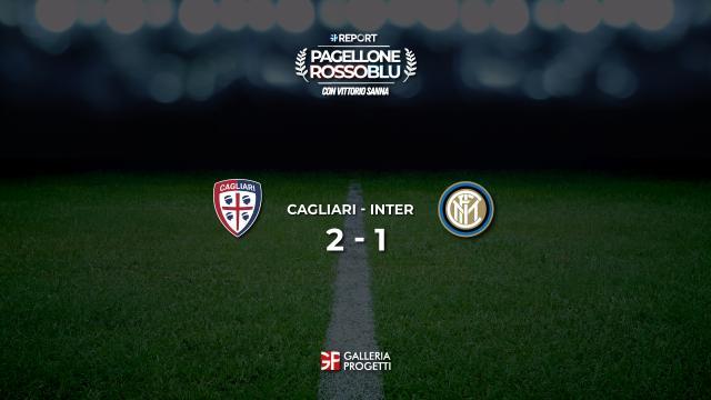 Pagellone Rossoblu   Cagliari - Inter 2 - 1