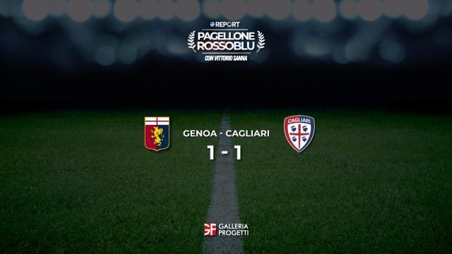 Pagellone Rossoblu I Genoa - Cagliari 1 - 1
