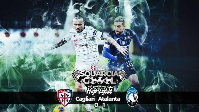 Squarciagol Highlights - Cagliari - Atalanta 0 - 1 - Vittorio Sanna