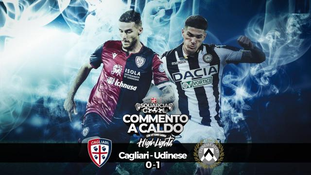 Squarciagol Highlights - Cagliari - Udinese 0 - 1