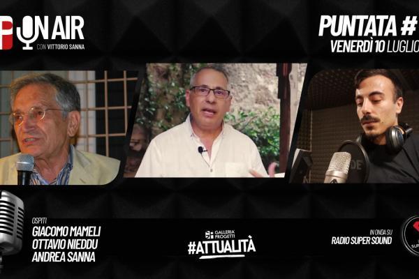 Gp On Air - Puntata 45 - Giacomo Mameli, Ottavio Nieddu e Andrea Sanna