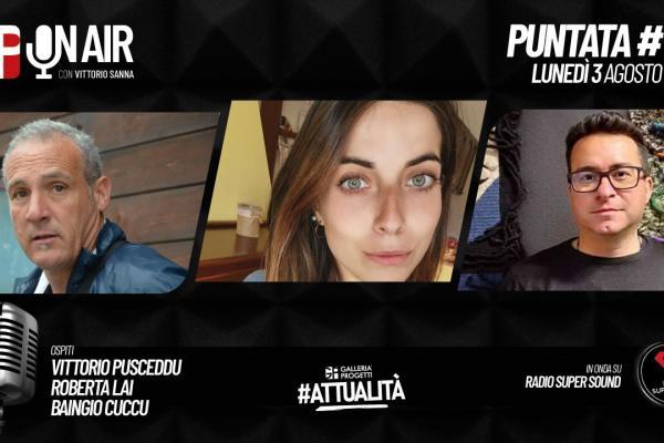 Gp On Air - Puntata 55 - Vittorio Pusceddu, Roberta Lai e Baingio Cuccu