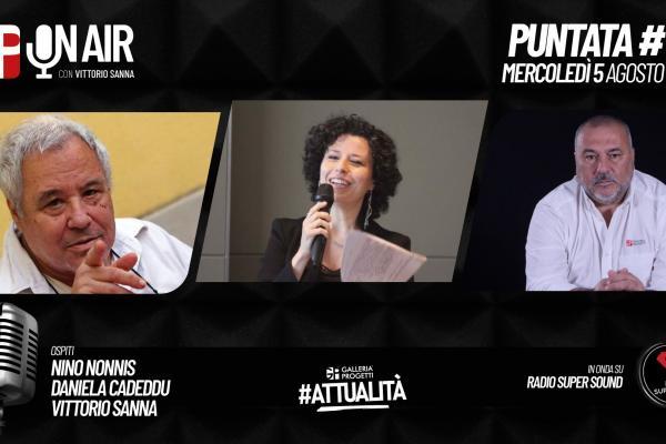 Gp On Air - Puntata 56 - Nino Nonnis, Daniela Cadeddu e Vittorio Sanna