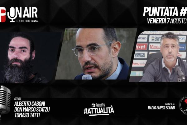 Gp On Air - Puntata 57 - Alberto Caboni, Don Marco Statzu e Tomaso Tatti
