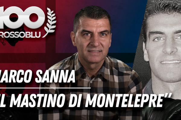 """#100ROSSOBLU   Marco Sanna """"Il mastino di Montelepre"""""""