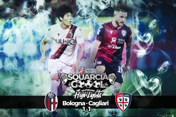 Squarciagol Highlights - Bologna - Cagliari 1 - 1