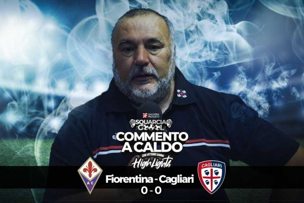 Squarciagol Highlights - Fiorentina - Cagliari 0 - 0 - Vittoria Sanna